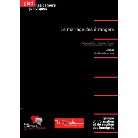 Le mariage des étrangers, 2e éd.