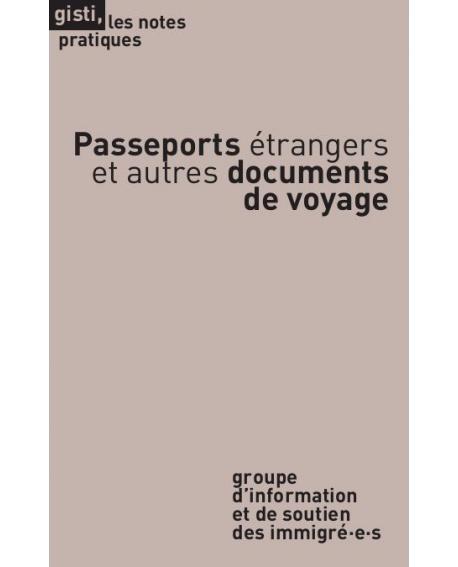 Passeports étrangers et autres documents de voyage