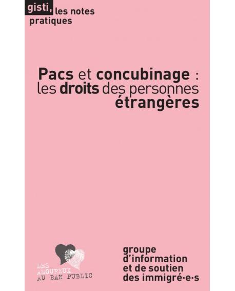 Pacs et concubinage : les droits des personnes étrangères