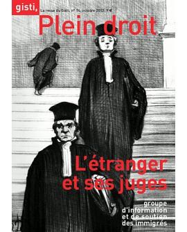 L'étranger et ses juges