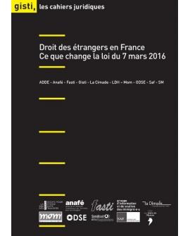 Droit des étrangers en France : Ce que change la loi du 7 mars 2016 (ebook PDF)