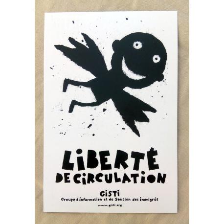 Carte postale «Liberté de circulation»