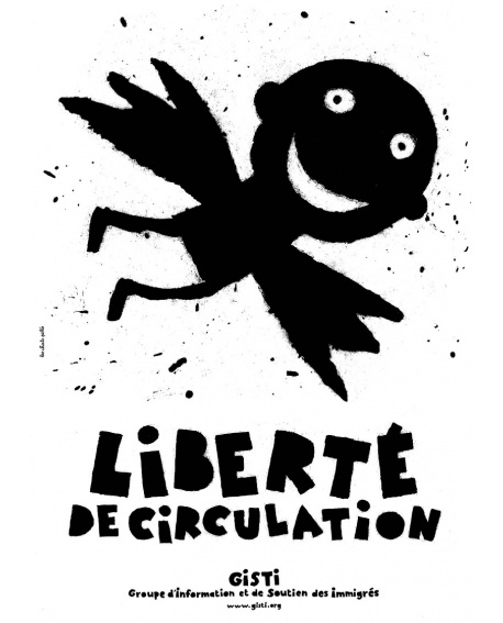 Affiche «Liberté de circulation»