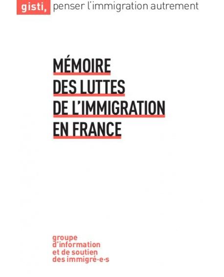 Mémoire des luttes de l'immigration en France