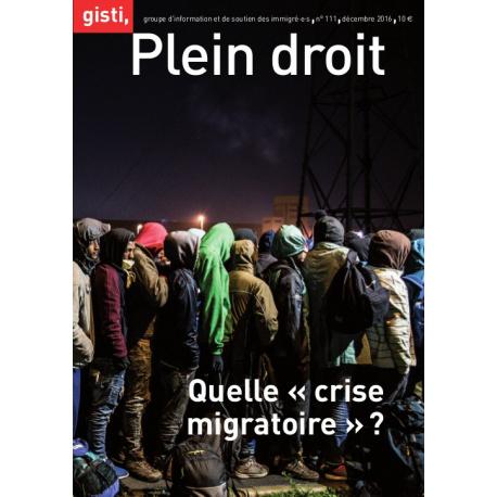 Quelle « crise migratoire » ?