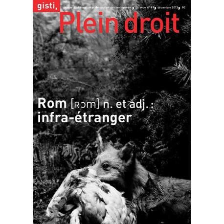 Rom, n. et adj. : infra-étranger