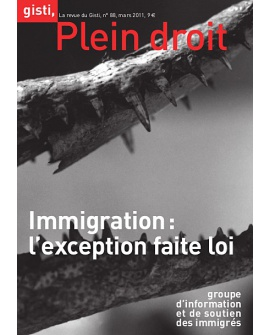 Immigration : l'exception faite loi (ebook PDF)