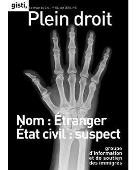 Nom : Étranger, état civil : suspect (ebook PDF)