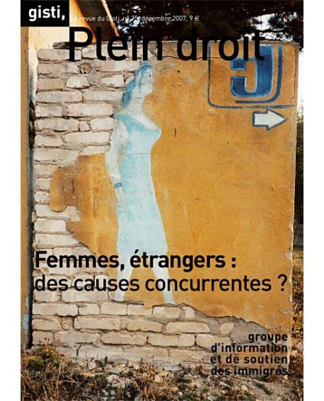 Femmes, étrangers : des causes concurrentes ?