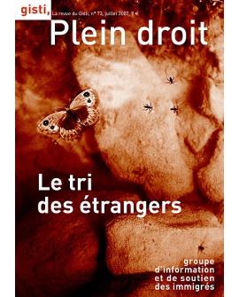 Le tri des étrangers (ebook PDF)