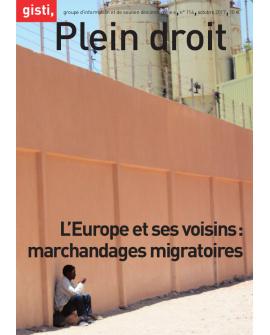 L'Europe et ses voisins : marchandages migratoires