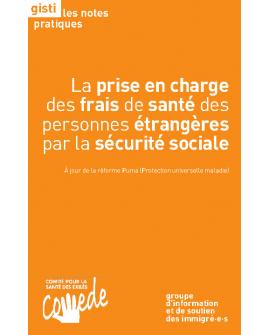 La prise en charge des frais de santé des personnes étrangères par la sécurité sociale (ebook PDF)