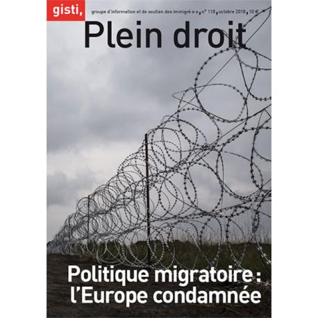 Politique migratoire : l'Europe condamnée