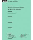 Reconnaissance en France de l'état civil étranger (ebook PDF)