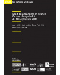 Droit des étrangers en France : ce que change la loi du 10 septembre 2018