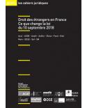 Droit des étrangers en France : ce que change la loi du 10 septembre 2018 (ebook PDF)