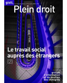 Le travail social auprès des étrangers (2)