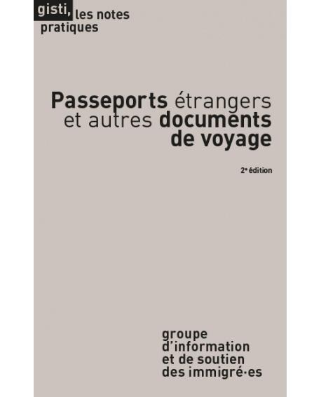 Passeports étrangers et autres documents de voyage, 2e édition