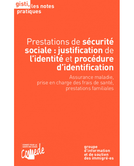 Prestations de sécurité sociale: justification de l'identité et procédure d'identification (ebook PDF)