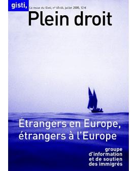 Étrangers en Europe, étrangers à l'Europe
