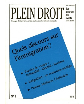Quels discours sur l'immigration ?