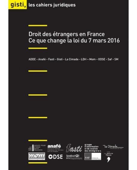 Droit des étrangers en France : Ce que change la loi du 7 mars 2016